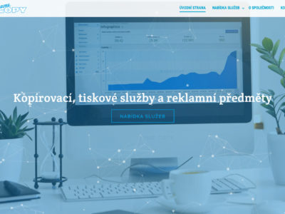 Spuštění první verze nového webu